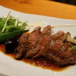 創作和食 くらしこ - 宮崎産和牛ランプのステーキ(1,580円)