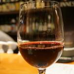 創作和食 くらしこ - 赤ワイン(グラス)(480円)