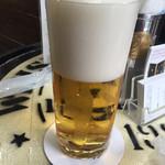 ビールスタンド重富 - 参度注ぎ
