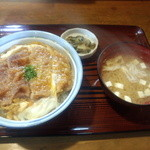 食堂 十九番 - カツ丼!