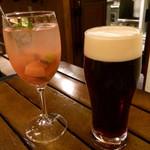 osuteriagai-na - 自家製サングリア・ハーフビール