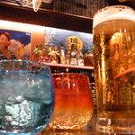 空 - オリオンビールはもちろん【生】!泡盛も豊富にご用意してます。