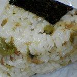 嬉野むすび庵 - 高菜おむすび¥100