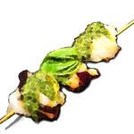 串焼 満天 - 蛸 バジルソース