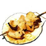 串焼 満天 - ほたて バター醤油