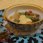 トゥ・ラ・ジョア - 合馬筍と海鮮の炊き込み