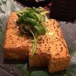 36024915 - 2015.03 炙り絹豆腐