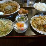 龍鳳園 - 八宝菜定食