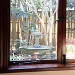 横浜うかい亭 - 窓の外2