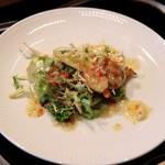 横浜うかい亭 - 北寄貝のサラダ