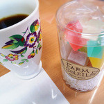 洋菓子のファームソレイユ - 料理写真:キャンディングジュレ♪(氷の華)