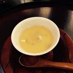 日本料理 太月 - 蛤の茶碗蒸し あんかけ2015-3