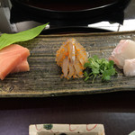 日本料理 太月 - お造り3種 2015-3
