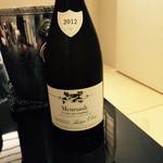 日本料理 太月 - Meursault 1er Cru Les Charmes Philippe Chavy 2012   2015-3