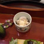 日本料理 太月 - 鯛白子酒蒸し ポン酢 2015-3