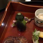 日本料理 太月 - 茶筅茄子 & こしあぶら白線揚げ 2015-3