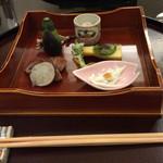 日本料理 太月 - 前菜 2015-3