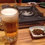 36032206 - 生ビール、松前漬