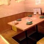 ふくのかみ - 内観写真:こちらのほぼ個室席でした。