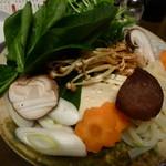 大将軍 - しゃぶしゃぶのお野菜