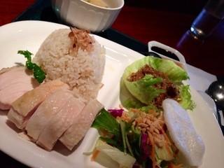 ラオパサ - 海南鶏飯ランチ 880円税込