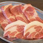 ホルモン焼黒潮 - 豚カルビ
