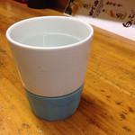 居酒屋がんがん - ショック吸収のコップの芋焼酎