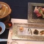 白雲 - 料理写真:前菜、お刺身