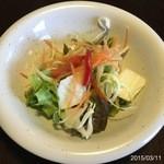 パイナップル畑 - ランチのサラダ