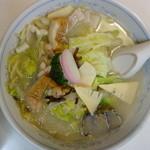 長崎軒 - 料理写真:長崎チャンポン(¥700税込み)5のつく日なので¥600でした。