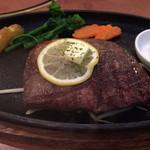 カウベル - 赤牛のモモステーキ
