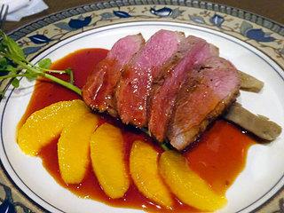 矢代商店 - 6000円コース:かも肉のロースト