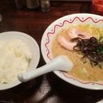36043119 - ハイロウ麺+ライス