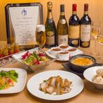 4 Seasons LDK - ¥3,980(税込み¥4,298)の飲み放題コースのお料理です