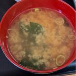 ふくふく食堂 - お味噌汁