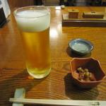 36047609 - 「生ビール」「お通し」