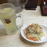 中華食堂 一番館 - ハイセット 360円
