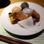 柿安 三尺三寸箸 - デザート