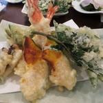 36050012 - 天ぷら定食のメインを。