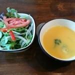 マヌエル・コジーニャ・ポルトゲーザ 渋谷店 - 2015.3 サラダとスープ
