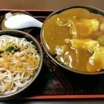 一休庵 - カレー丼セット(ランチ)750円