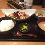 36054701 - メバルと鶏肉の黒酢あんかけ