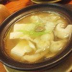 3606480 - お鍋(お豆腐、牡蠣、鴨、天然キノコ)