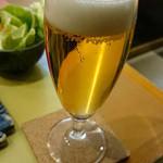 ぎんざ磯むら 横浜関内店 - 食べログのクーポンで頂けるグラスビール