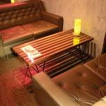 ベビーハーツ - ゆったりとしたソファー席