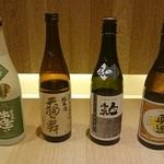 蕎麦きり はるきや - 日本酒取り揃えております