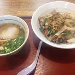 一番亭 - 料理写真:日替わりラーメン一番セット