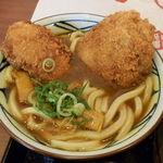 丸亀製麺 - Wカツカレーうどん590円