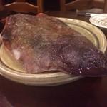 楽膳 - 小樽から、スノーアイスに包まれた赤カレイ