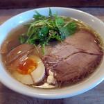 ニジイロ食堂 - 鶏麺 醤油